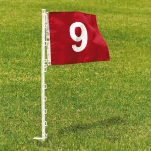 Un drapeau golf